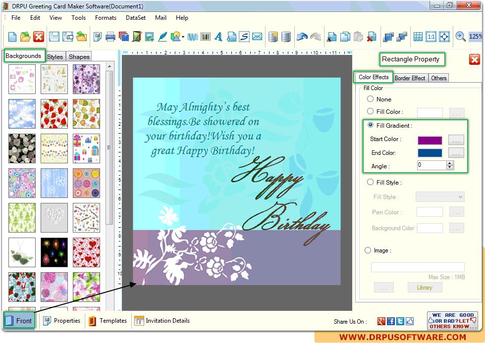 drpu greeting card maker