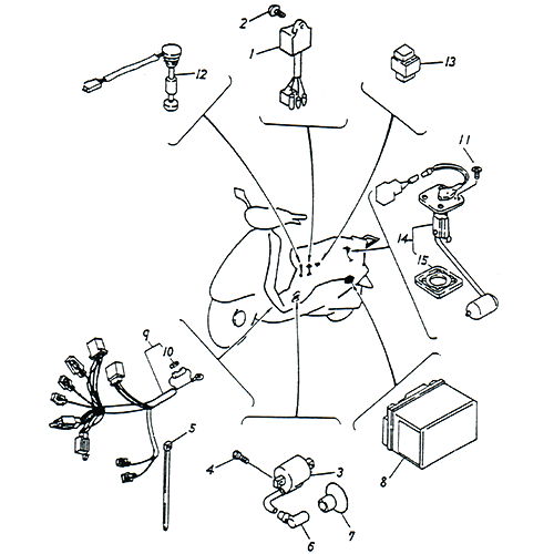 Mini Chopper Wiring Harness Wiring Diagram Wiring Schematics