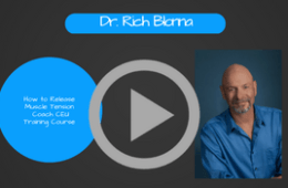 Stress Coaching CEU Training Course: Video # 5  How to Release Tension