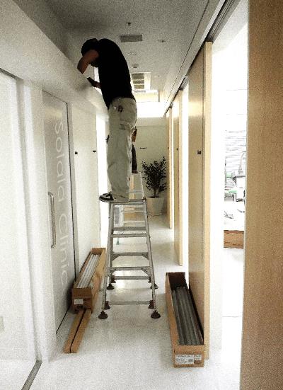 LED蛍光灯入れ替え工事