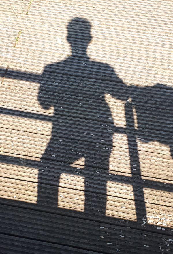 DrSchwein als Schatten
