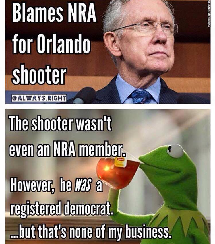 NRA and Democrat Shooters