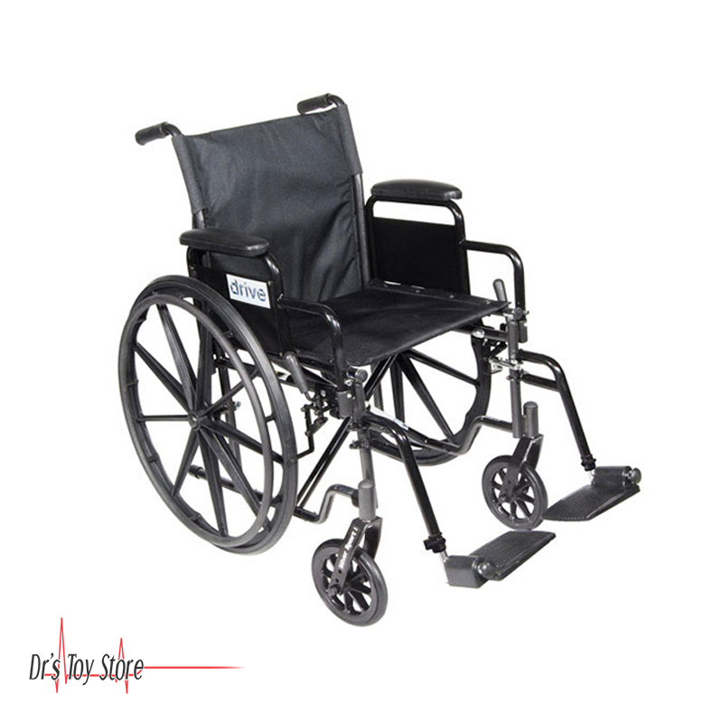 drive wheel chair carolina panthers medical silver sport 1 wheelchair for sale at dr s toy store