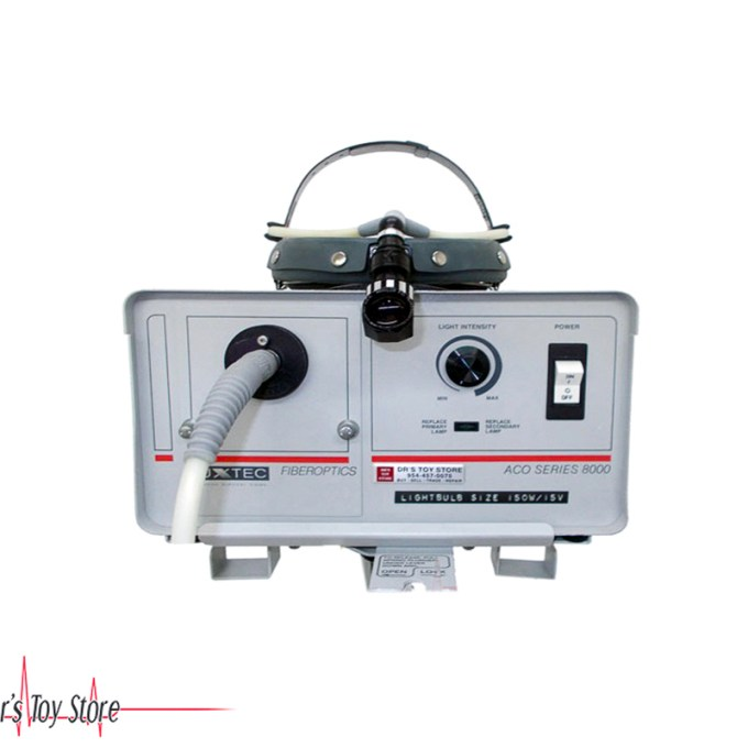 Luxtec Aco Series 8000 Light Source Head Lamp W Stand Drstoystore