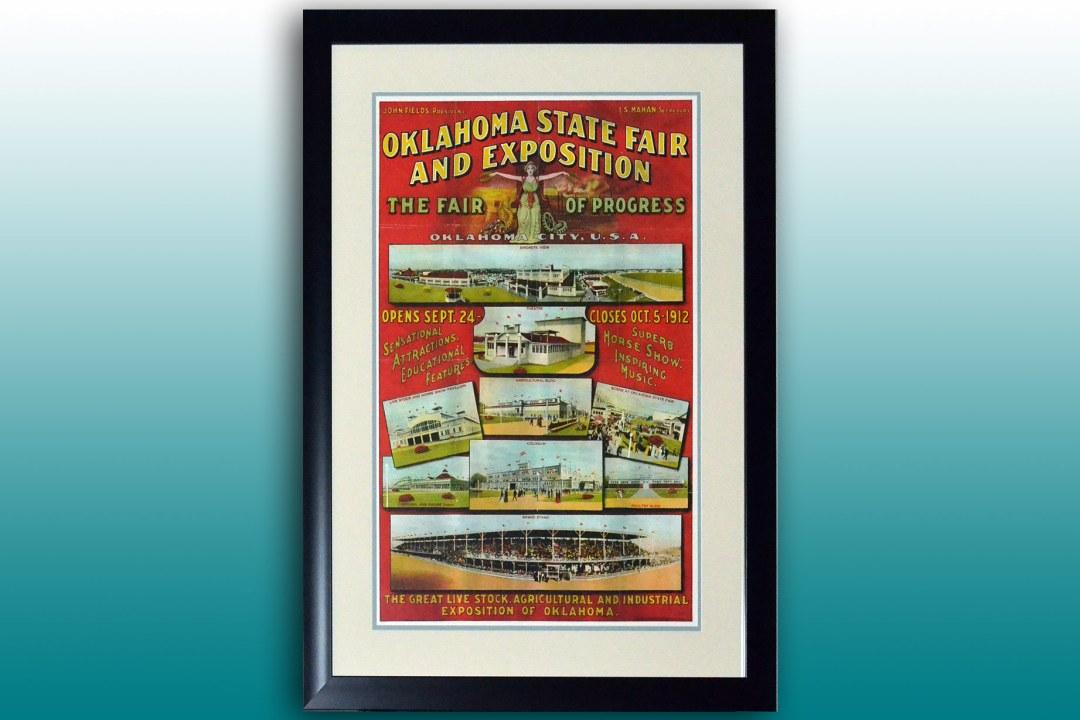 Oklahoma State Fair poster