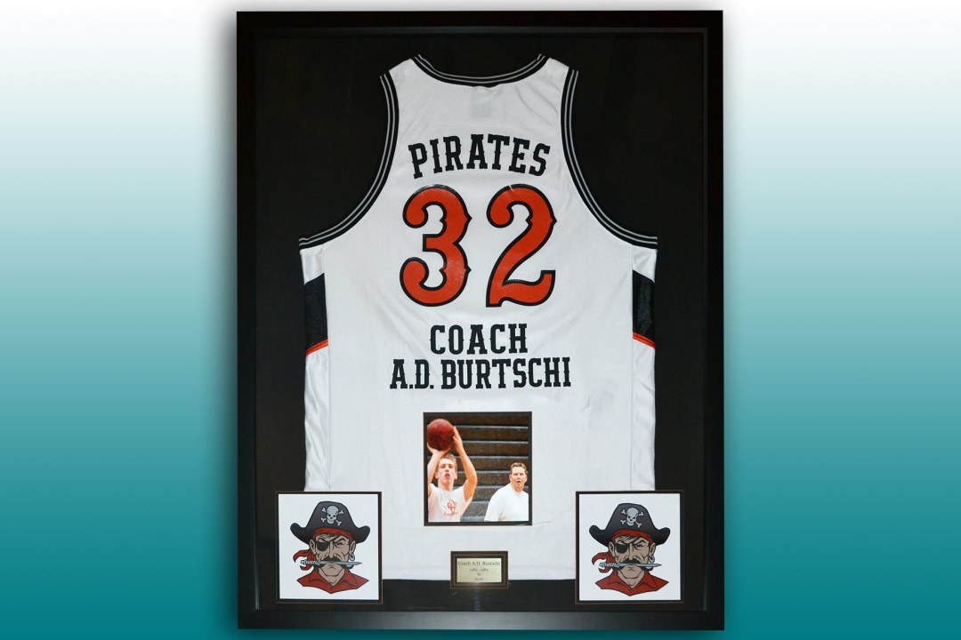 Coach retirement basketball jersey