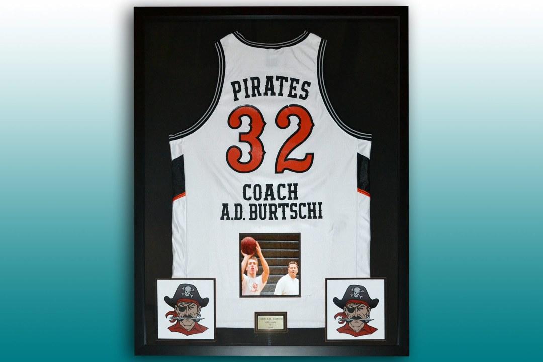 Coach retirement basketball jersey