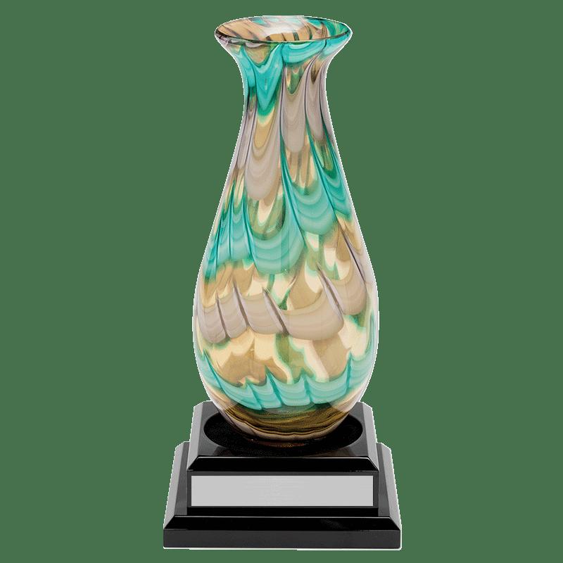 Art Glass Vase Dale Rogers Training Center