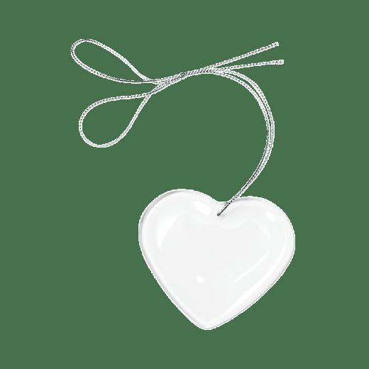 Crystal heart ornament