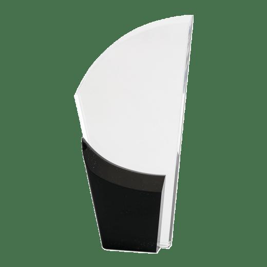 Blank black Lunar Acrylic award