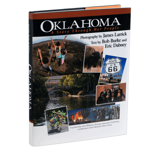 Oklahoma: A Story Through Her People cover.