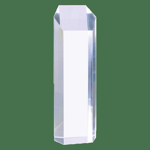 Blank tower acrylic award.