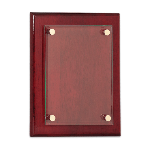 Blank Rosewood Piano Finish Floating Plaque