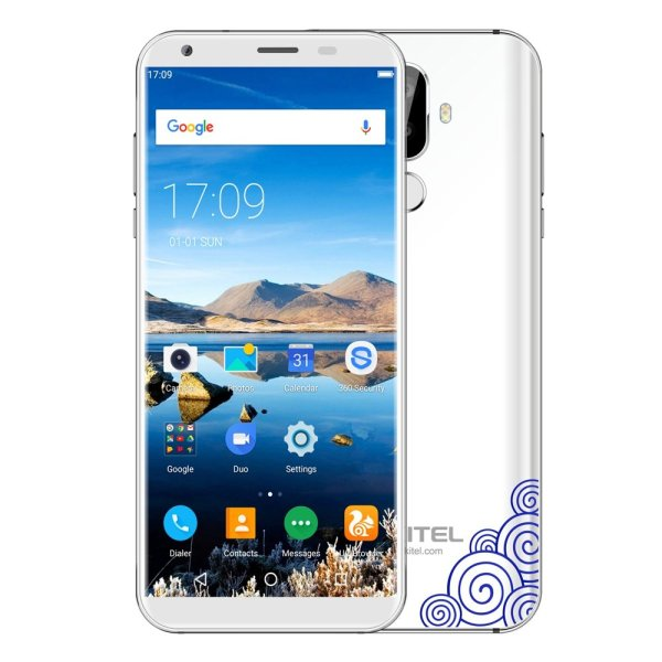 OUKITEL K5 4G Phablet 5.7 inch Android 7.0 MTK6737V Quad Core 1.3GHz 2GB RAM 16GB ROM 4000mAh Battery Dual Rear Cameras Fingerprint Recognition 1