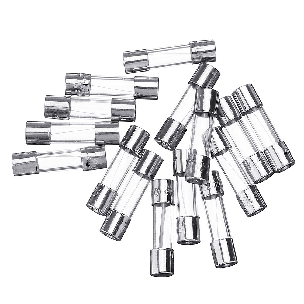 150Pcs 5x20mm 0.1A-30A Fuse Tube Kit Boxed 15 Values Each