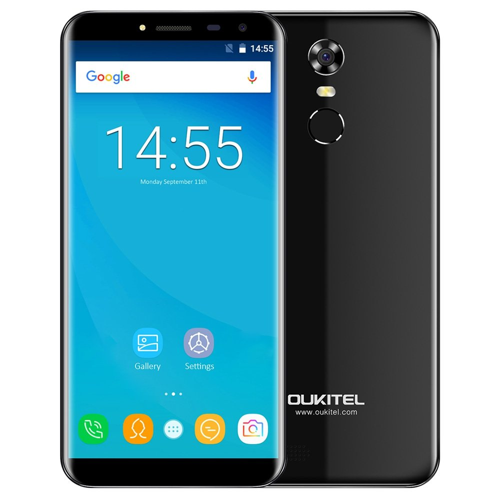 OUKITEL C8 4G Smartphone Android 7 0 5 5 inch MTK6737 Quad Core 1 3GHz 2GB  RAM 16GB ROM Touch Sensor 8 0MP Rear Camera
