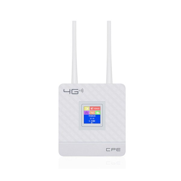 2.4G 4G LTE Wifi Router CPE Router Support for 20 Users with SIM Card Slot Wirelss Wired Router 1