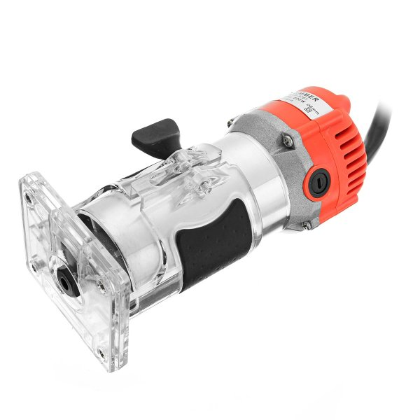 Raitool™ 800W 30000RPM Variable Speed Electric Hand Trimmer Wood Laminate Palm Router 1