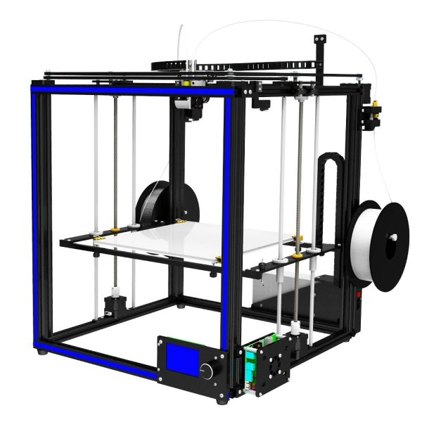 TRONXY® X5S-2E DIY Aluminium 3D Printer 330*330*400mm Printing Size Support Single/Dual/Mixed Color With Dual Z-axis Rod/Knob Button LCD Screen 1