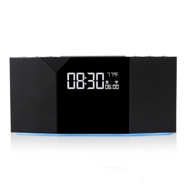 WITTI BEDDI Glow SE | App Enabled Intelligent Alarm Clock with Wake-up Light, Bluetooth Speaker and USB Charging Station 1
