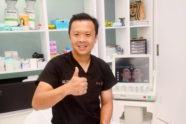 Ultherapy Dr. Terence Tan thumbs up