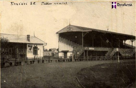 """Stadionul """"Banatul"""" în 1914, la un an de la inaugurare"""