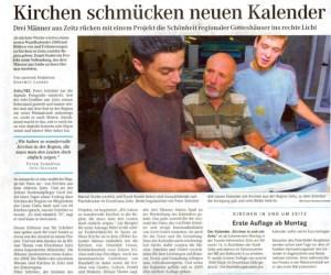 Zeitungsartikel Druckhaus Zeitz vom 7. August 2007