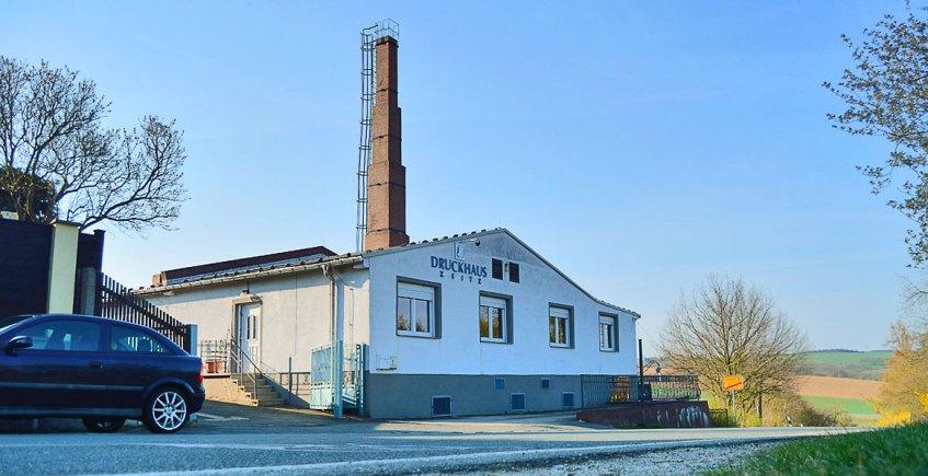 Ansicht Druckhaus Zeitz