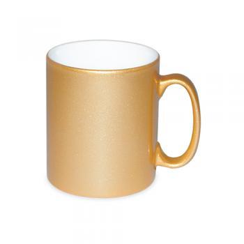 Gold-Tasse