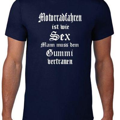 Biker-Shirt-Gummi