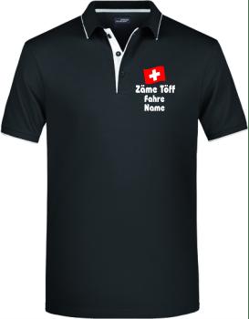 Zäme-Töff-Fahre-Polo-Shirt