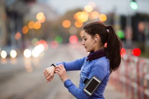 smartwatch jogging