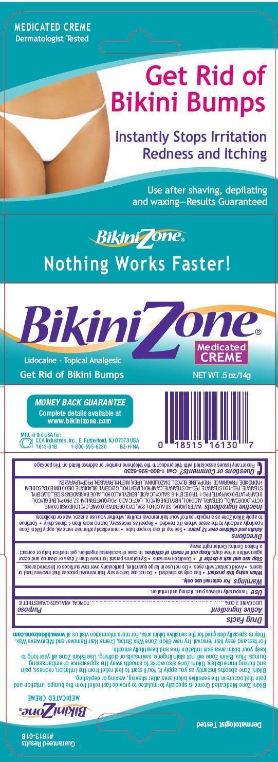 Bikini Zone Medicated CREME (by CCA Industries Inc.)