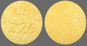 44 226 Pill Images (Yellow / Round)