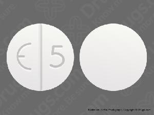 E 5 White - Pill Identification Wizard | Drugs.com