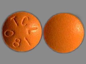 TCL 081 Pill Images (Orange / Round)