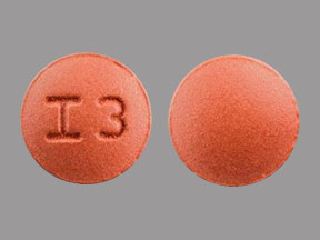 I3 Pill Images (Brown / Round)