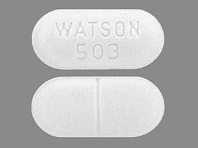 WATSON 503 Pill Images (White / Capsule-shape)