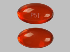 P51 Pill Images (Red / Capsule-shape)