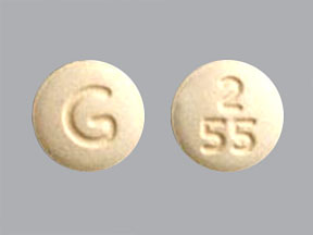 G 2 55 Pill Images (Green / Round)