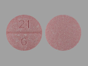 21 G Pill Images (Pink / Round)