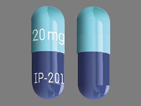 P20 Blue - Pill Identification Wizard | Drugs.com