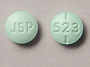 JSP 523 Pill Images (Green / Round)