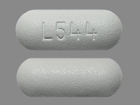 L544 Pill Images (White / Capsule-shape)