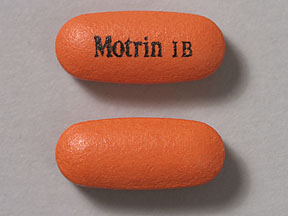 Motrin IB Pill Images - What does Motrin IB look like ...