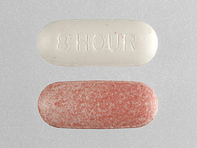 8 HOUR Pill Images (Red / Capsule-shape)