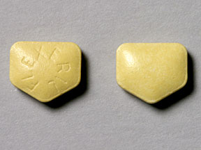 FLEXERIL Pill Images (Yellow / Five-sided)