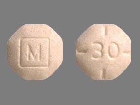 Adderall 30mg white pill