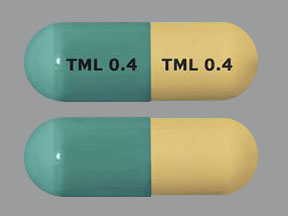 TML 0.4 TML 0.4 Pill Images (Green & Yellow / Capsule-shape)