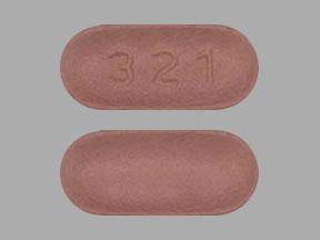 321 Pill Images (Orange / Capsule-shape)